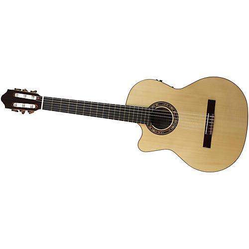 Kremona Fiesta F65CW Left-Handed Classical Electric Guitar