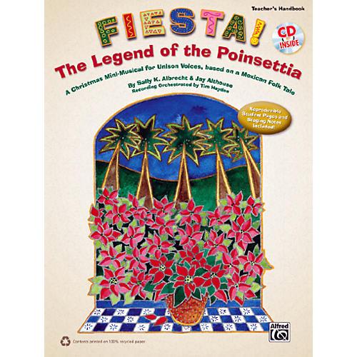 Alfred Fiesta! The Legend of the Poinsettia Book & CD