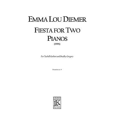 Lauren Keiser Music Publishing Fiesta for Two Pianos LKM Music Series