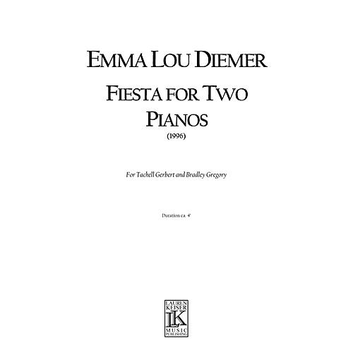 Lauren Keiser Music Publishing Fiesta for Two Pianos LKM Music Series