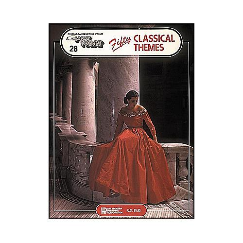 Hal Leonard Fifty Classical Themes E-Z Play 28