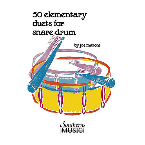 Hal Leonard Fifty Elementary Duets For Snare Drum Southern Music Series Composed by Maroni, Joe