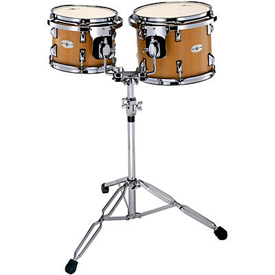 Black Swamp Percussion Figured Anigre Concert Tom Set with Stand