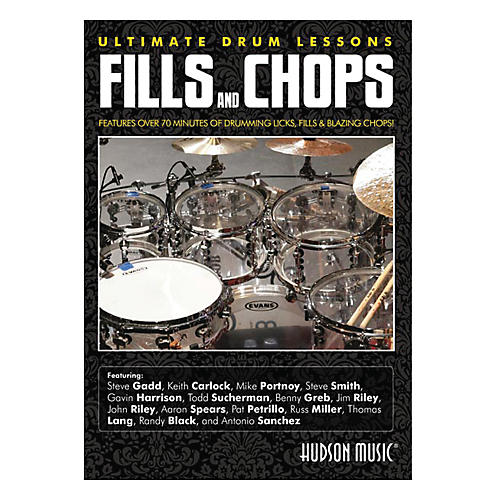 Hudson Music Fills & Chops Ultimate Drum Lessons DVD