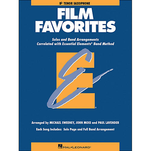Hal Leonard Film Favorites B-Flat Tenor Saxophone