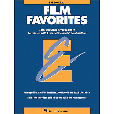 Hal Leonard Film Favorites Baritone T.C.