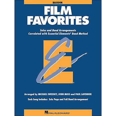 Hal Leonard Film Favorites Bassoon