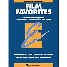 Hal Leonard Film Favorites Percussion