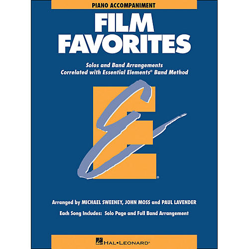 Hal Leonard Film Favorites Piano Accompaniment