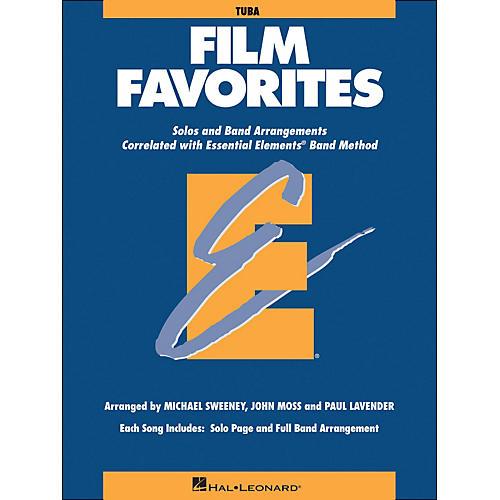 Hal Leonard Film Favorites Tuba