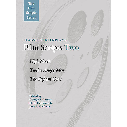 Applause Books Film Scripts Two (High Noon, Twelve Angry Men, The Defiant Ones) Applause Books Series Softcover