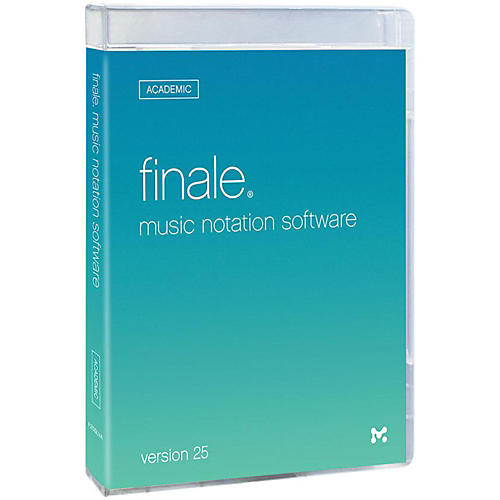 Makemusic Finale 25 Academic Trade Up from PrintMusic