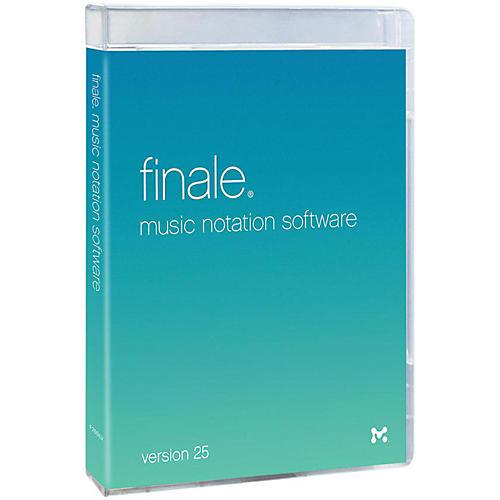 Makemusic Finale 25 Upgrade
