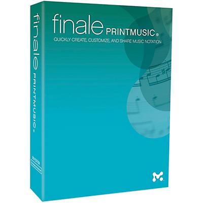 Makemusic Finale PrintMusic 2014