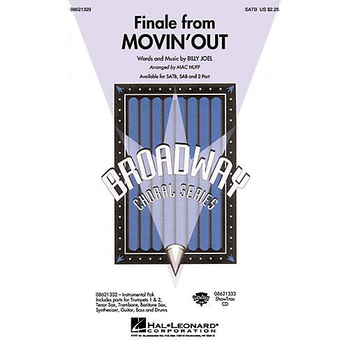 Hal Leonard Finale from Movin' Out ShowTrax CD Arranged by Mac Huff