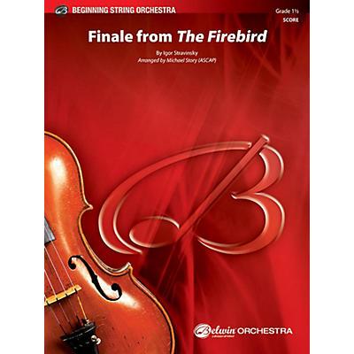 BELWIN Finale from The Firebird - Grade 1.5