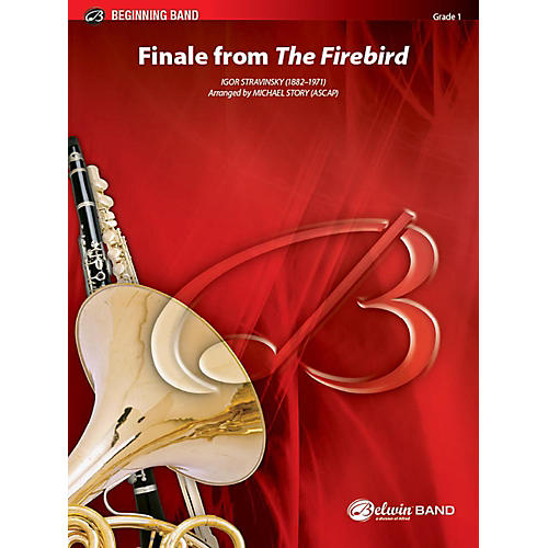 Alfred Finale from The Firebird Concert Band Grade 1 Set