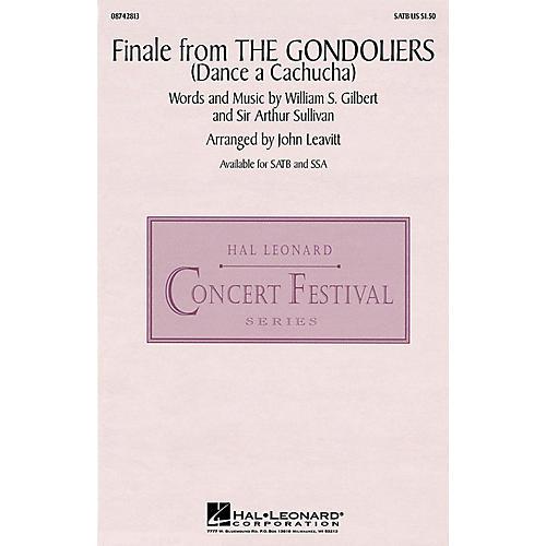 Hal Leonard Finale from The Gondoliers SATB arranged by J Leavitt