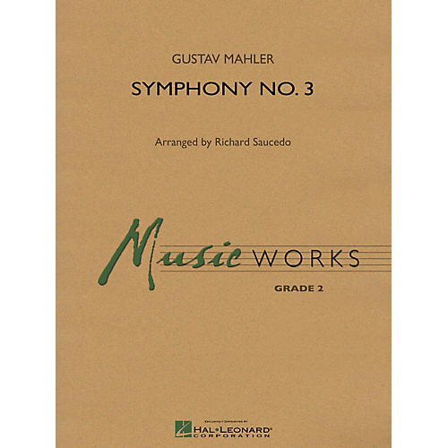 Hal Leonard Finale to Symphony No. 3 Concert Band Level 2 Arranged by Richard Saucedo