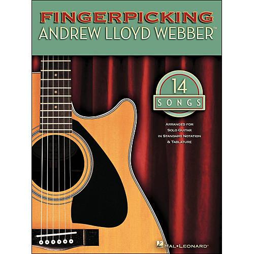 Hal Leonard Fingerpicking Andrew Lloyd Webber 14 Songs