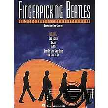 Hal Leonard Fingerpicking Beatles Guitar Tab Book