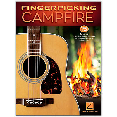 Hal Leonard Fingerpicking Campfire - 15 Songs Arranged for Solo Guitar in Standard Notation & Tablature