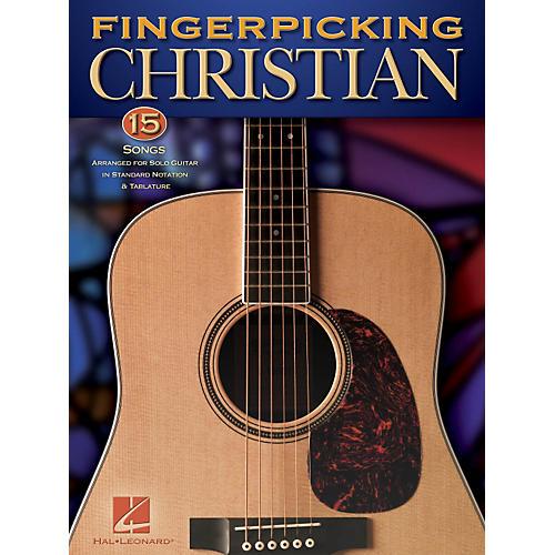 Hal Leonard Fingerpicking Christian - 15 Songs Arranged For Solo Guitar In Standard Notation & Tab
