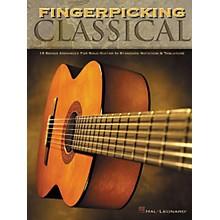 Hal Leonard Fingerpicking Classical Solo Guitar Tab Book