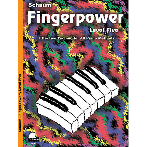 SCHAUM Fingerpower - Level 5 Educational Piano Series Softcover Written by John W. Schaum