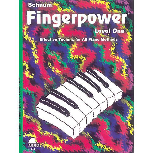 SCHAUM Fingerpower Book Level 1