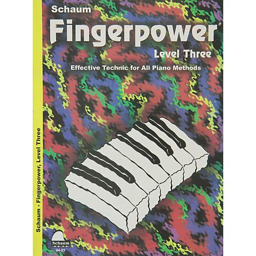 Hal Leonard Fingerpower Book Level 3