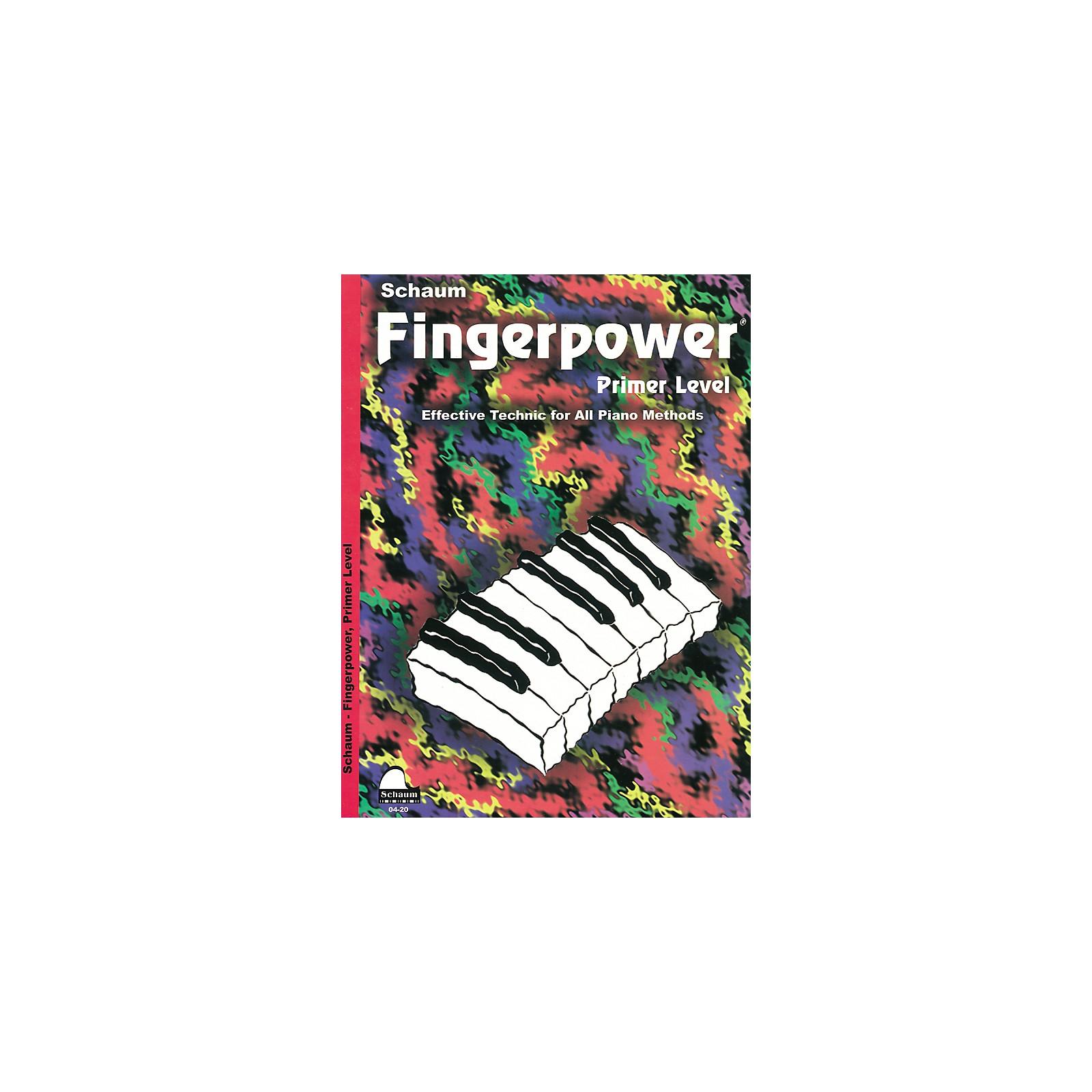 SCHAUM Fingerpower Book Primer