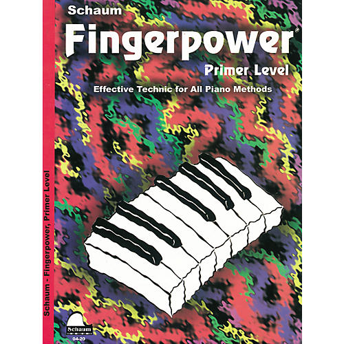 SCHAUM Fingerpower Book Primer