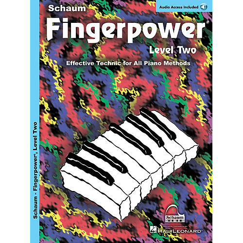 SCHAUM Fingerpower Educational Piano Series, Level 2 by John W. Schaum (Book/CD)