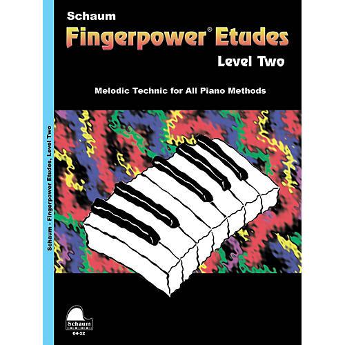 SCHAUM Fingerpower« Etudes Lev 2 Educational Piano Series Softcover