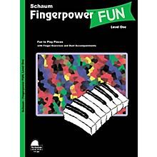 SCHAUM Fingerpower® Fun (Level 1 Elem Level) Educational Piano Book
