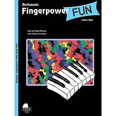 SCHAUM Fingerpower® Fun (Level 2 Upper Elem Level) Educational Piano Book