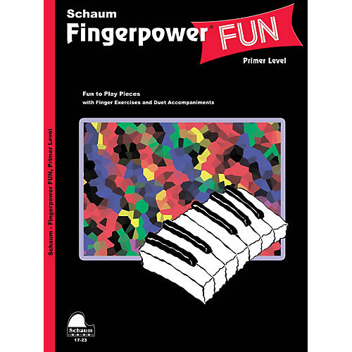 SCHAUM Fingerpower® Fun (Primer Level Early Elem Level) Educational Piano Book