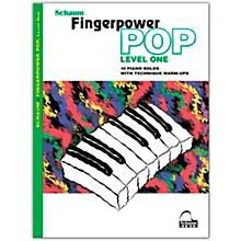 SCHAUM Fingerpower Pop - Level 1 10 Piano Solos with Technique Warm-Ups