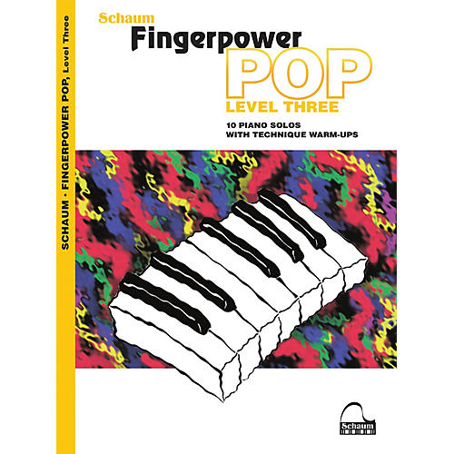 SCHAUM Fingerpower Pop - Level 3 (10 Piano Solos with Technique Warm-Ups)
