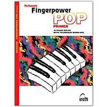 SCHAUM Fingerpower Pop - Primer 10 Piano Solos with Technique Warm-Ups