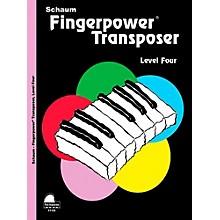 SCHAUM Fingerpower Transposer, Level Four - Intermediate