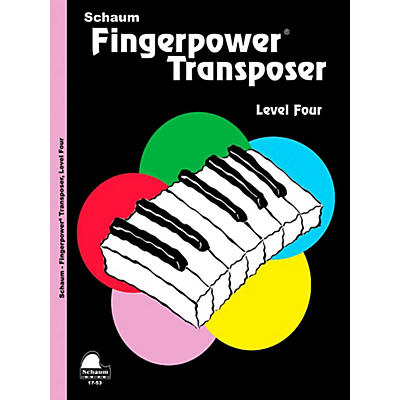 SCHAUM Fingerpower Transposer, Level Four - Intermediate