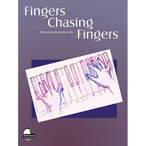 SCHAUM Fingers Chasing Fingers Educational Piano Series Softcover