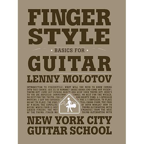 Carl Fischer Fingerstyle Basics For Guitar (Book) New York City Guitar School