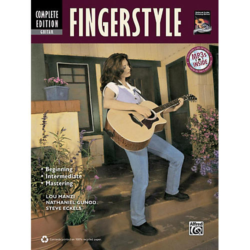 Alfred Fingerstyle Guitar Method Complete Book with CD
