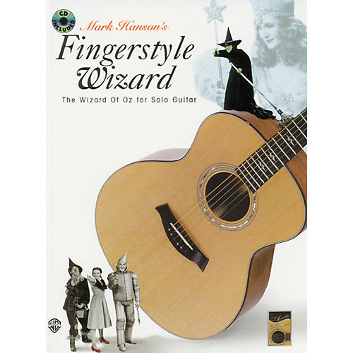 Alfred Fingerstyle Wizard of OZ For Solo Guitar Book w/CD