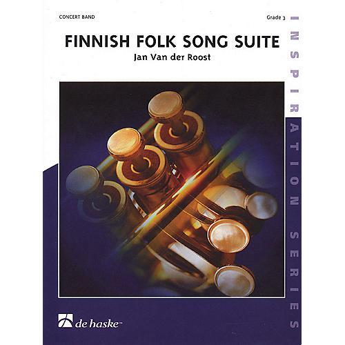De Haske Music Finnish Folk Song Suite (Score & Parts) Concert Band Level 3 Composed by Jan Van der Roost