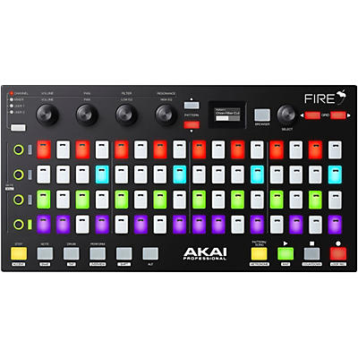 Akai Professional Fire FL Studio Controller with FL Studio Fruity Fire Edition