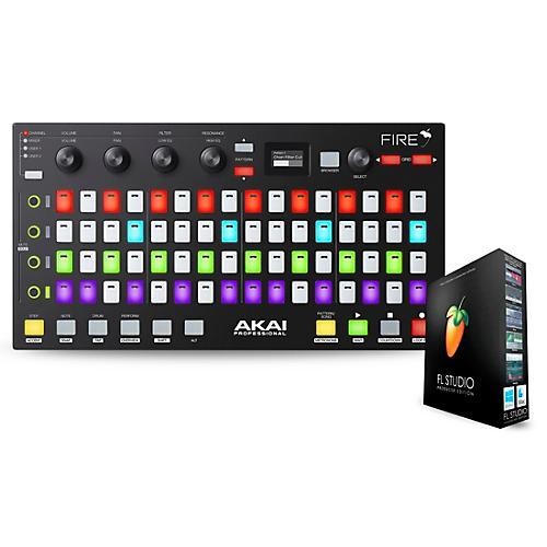 Akai Professional Fire FL Studio Controller with FL Studio Producer Edition